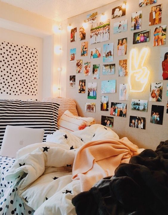 dorm room, college, room decor and back to school - image #12