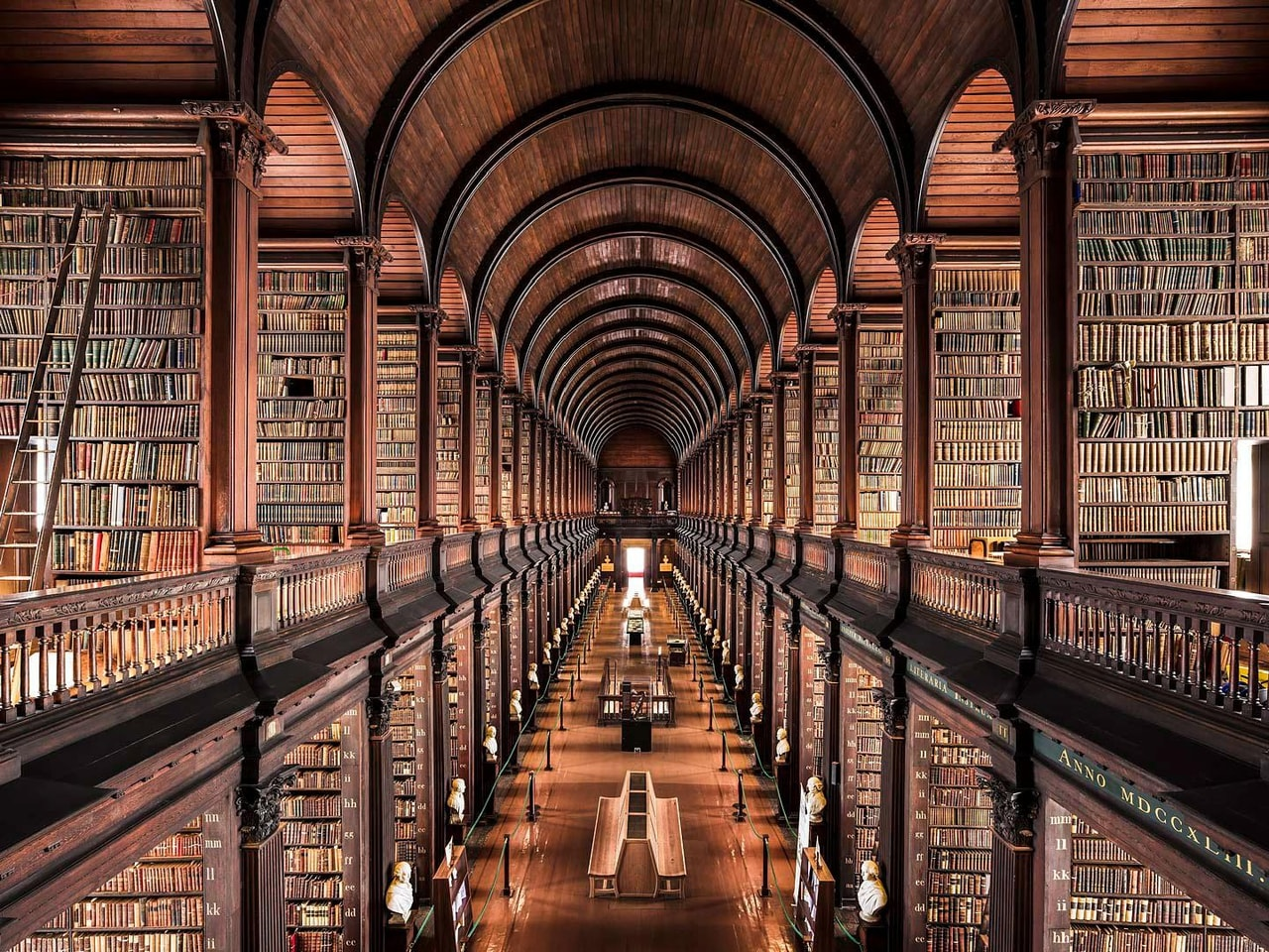 books, kell, library and architecture