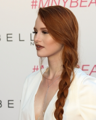 braid, red hair, madelaine and blossom