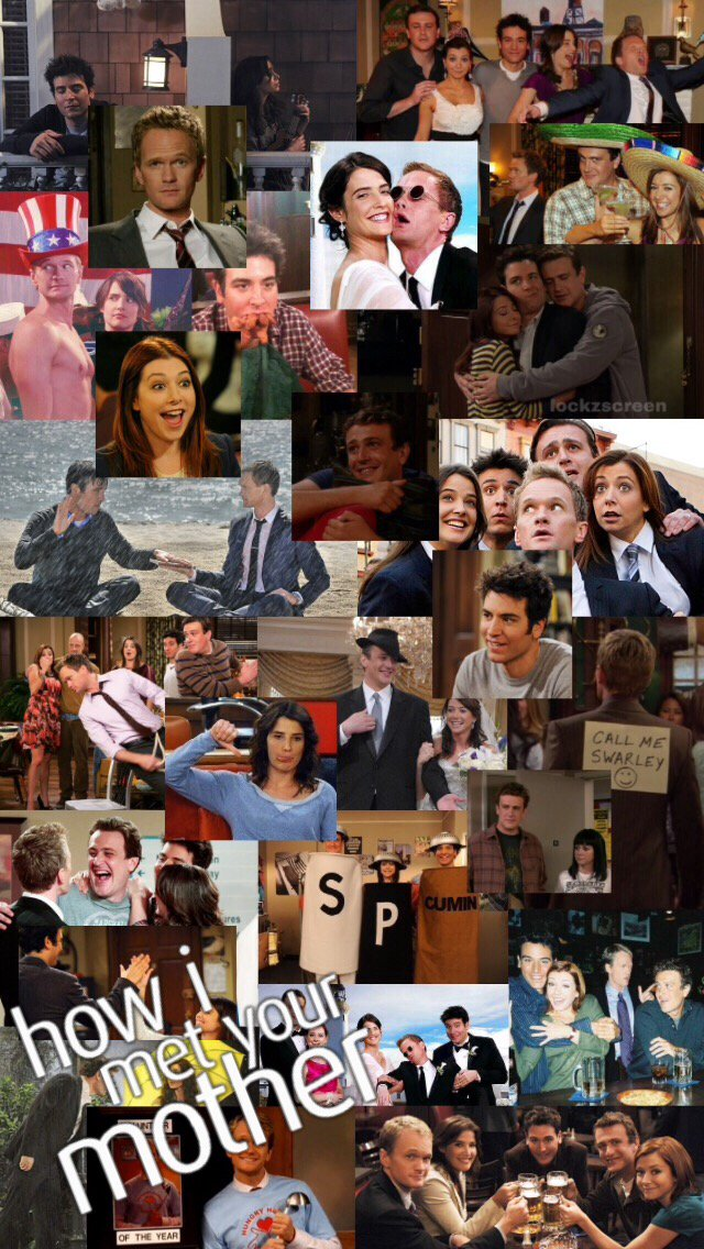 ted, how i met your mother, lockscreen and tv show