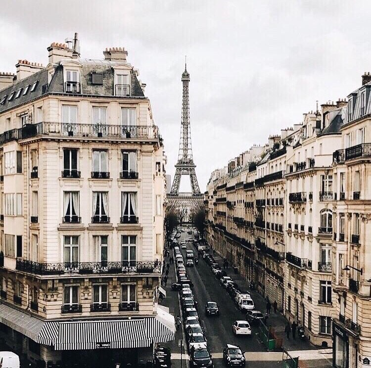 view, city, france and eiffel