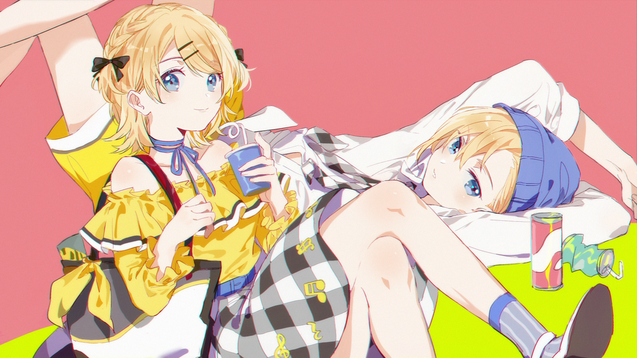 fashion, kagamine rin and pixiv