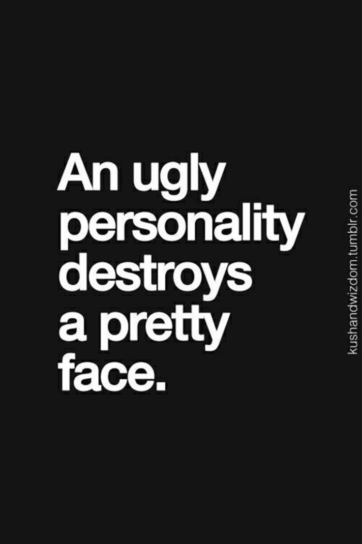 sister, personality and ugly
