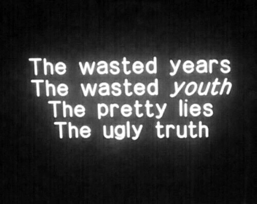 ugly, emotions and wasted