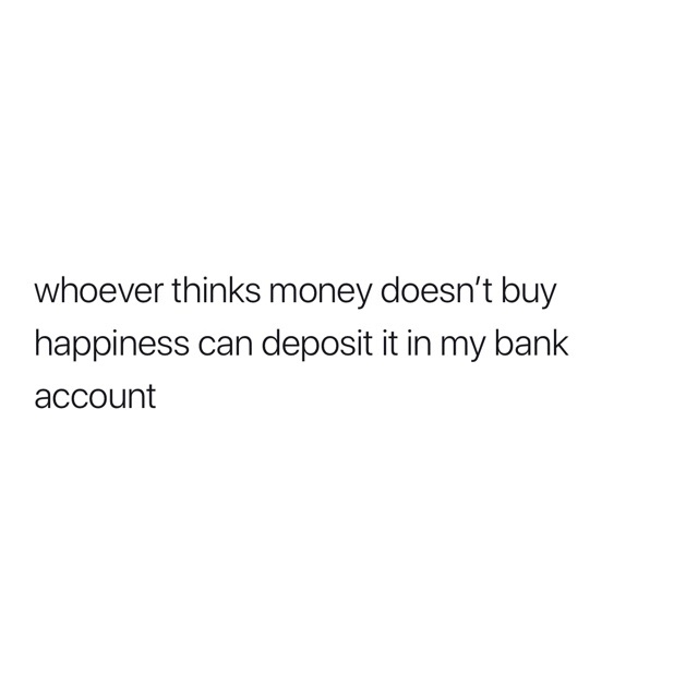 cash, text and funny