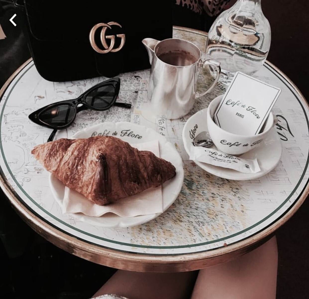 croissant, fall, flore and morning