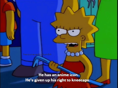Tumblr Lisa Simpson Anime Icon Meme And The Simpsons Image