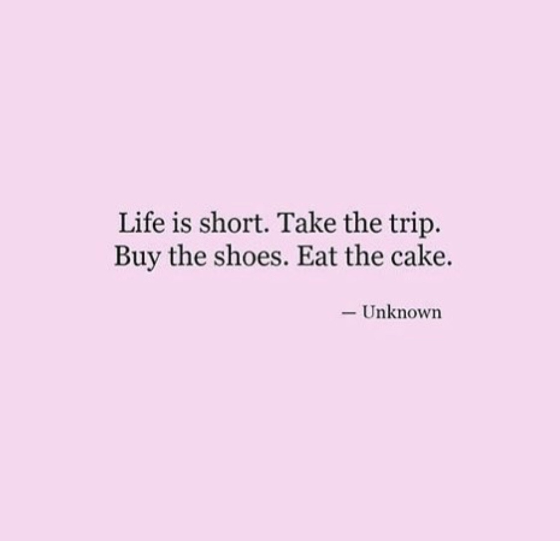is, take and shoes