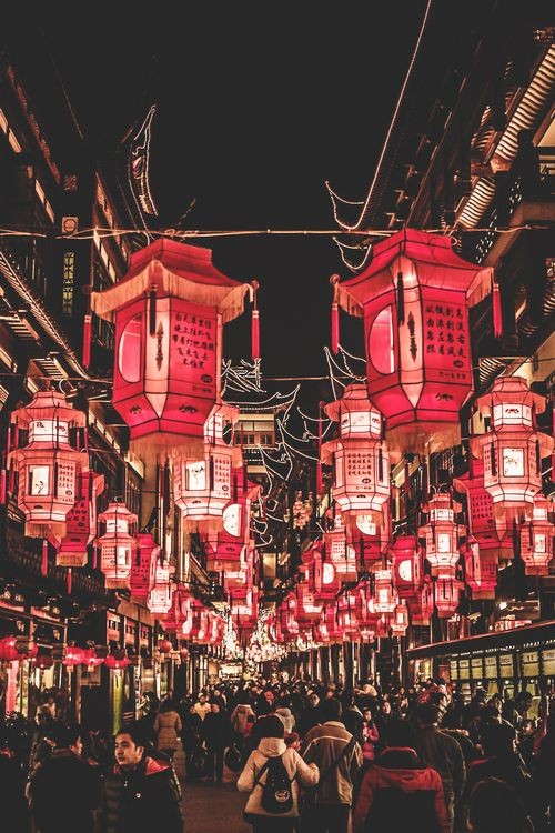 travel, aesthetic and lanterns