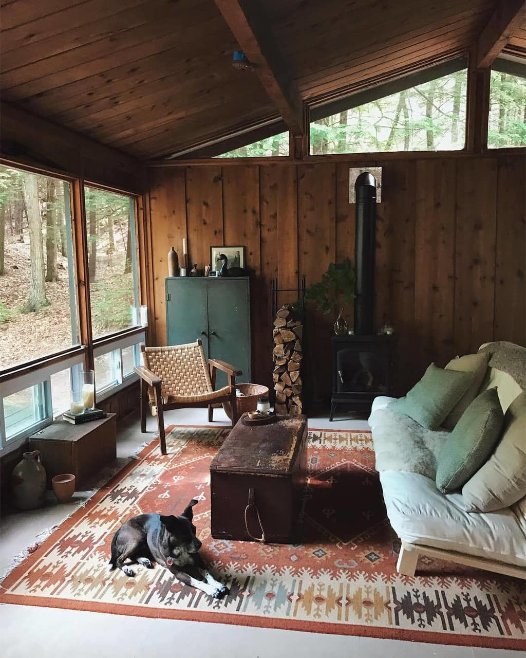 cabin, house, home and log cabin