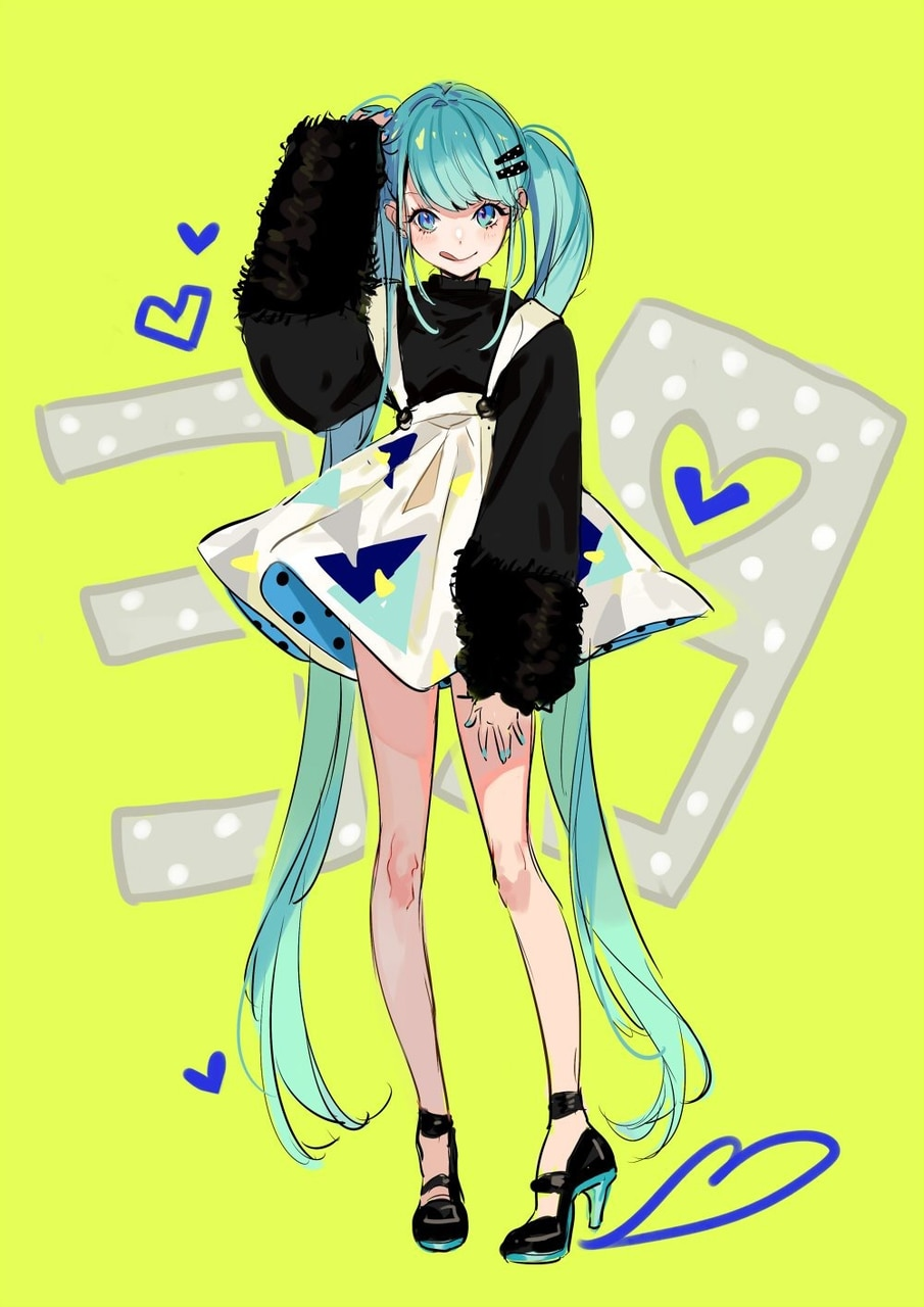 manga, style and vocaloid