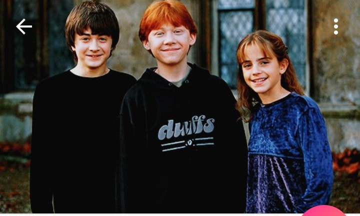 bi, harry potter, ron and love