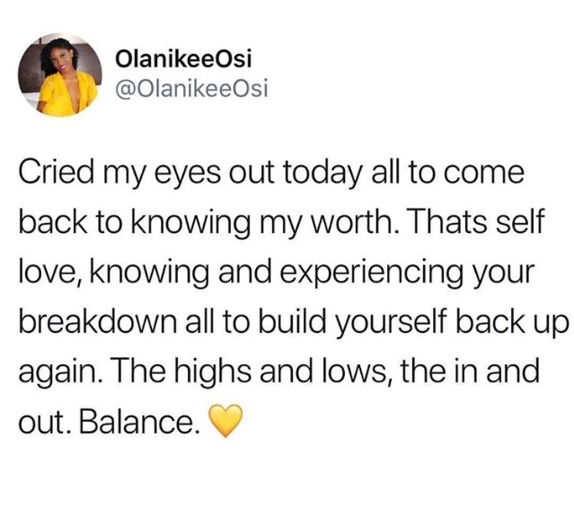crying, love and value
