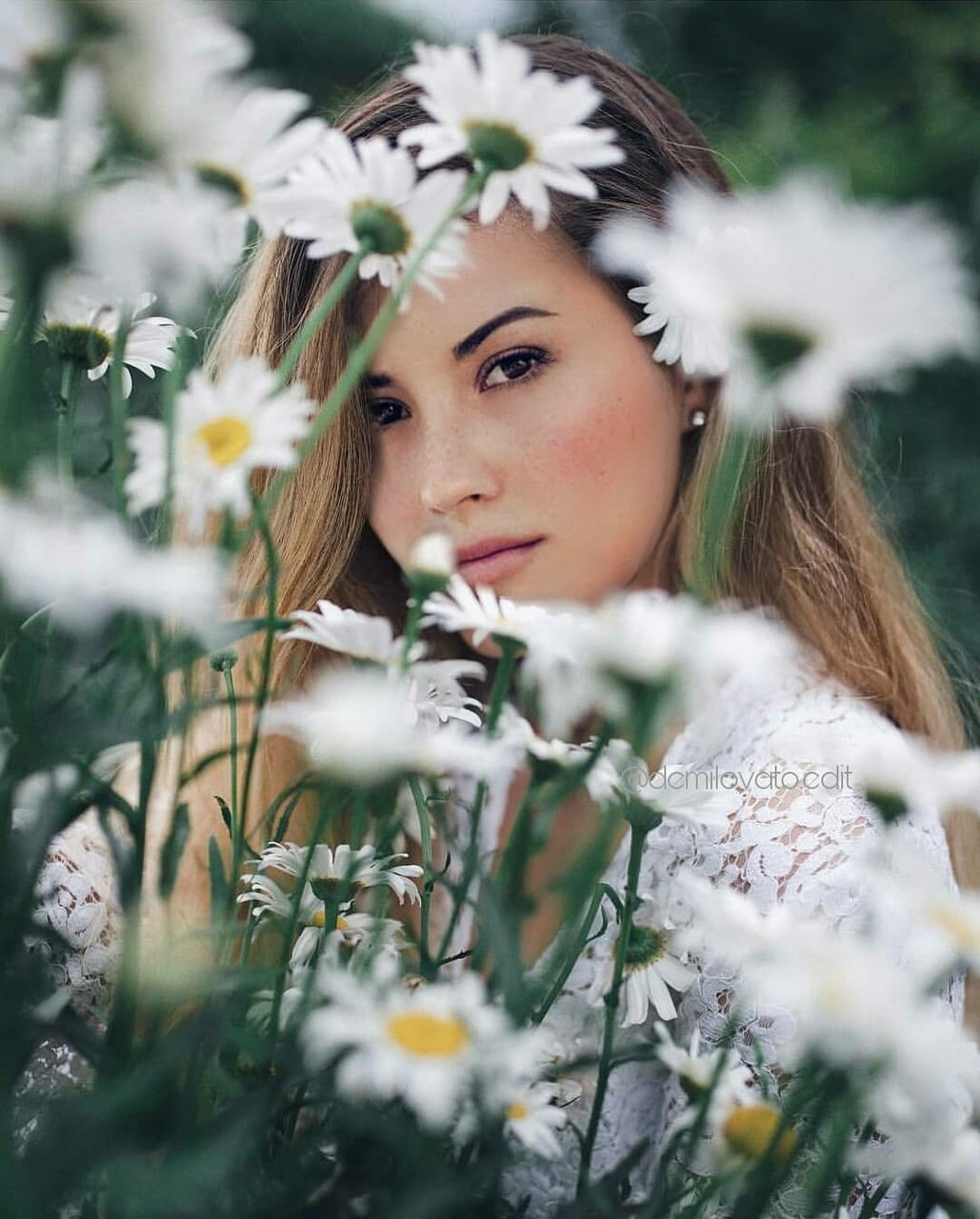 flowers, demi and natural beauty