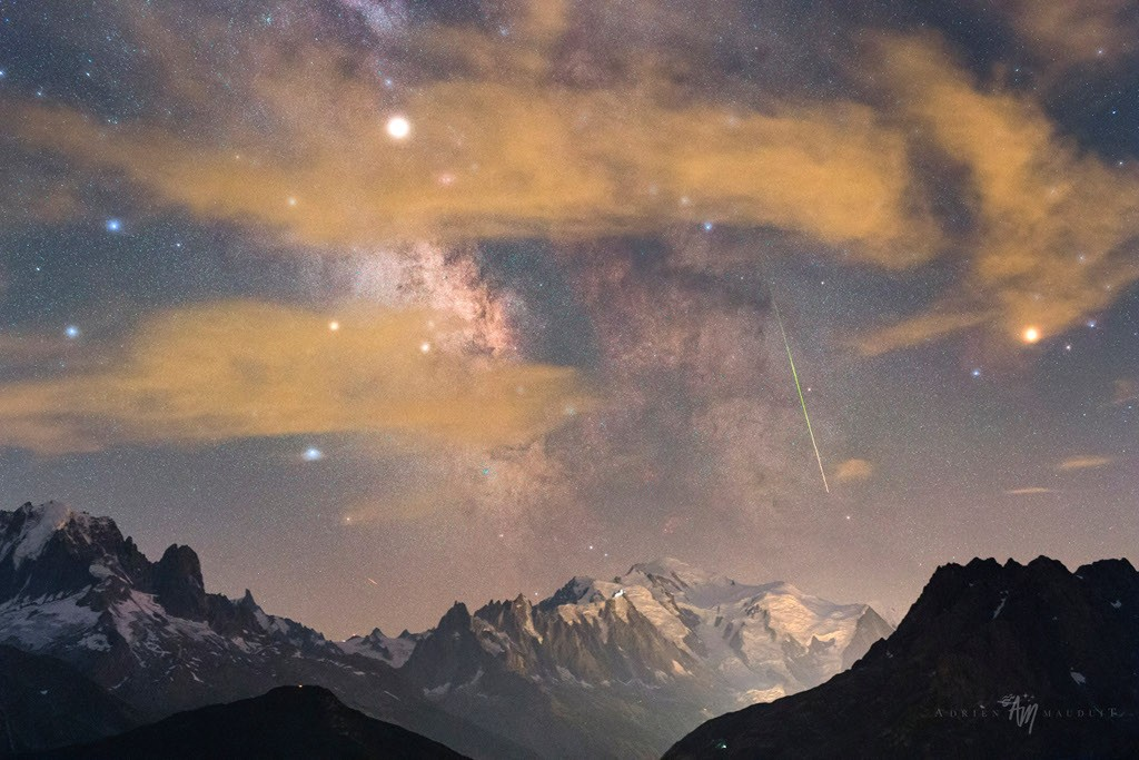 milky way, amazing and science