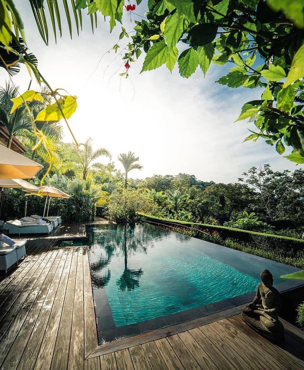 mood, swimming pool and house