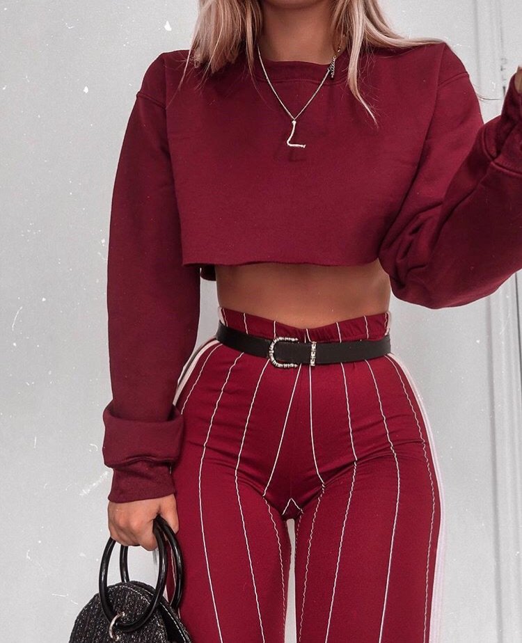 Outfits Goals Burgundy Girly Style And Fashion Image 6320183 On Favim Com