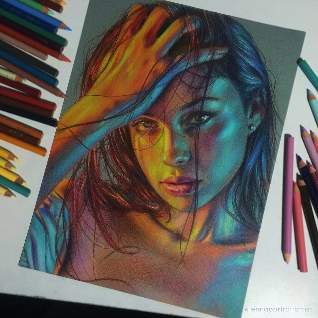 beauty, art and drawing