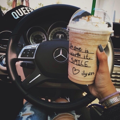 mercedes, coffee and photography