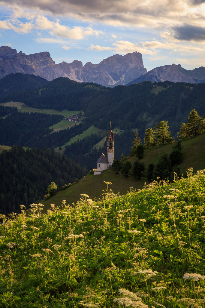 the alps, tolpei and italy