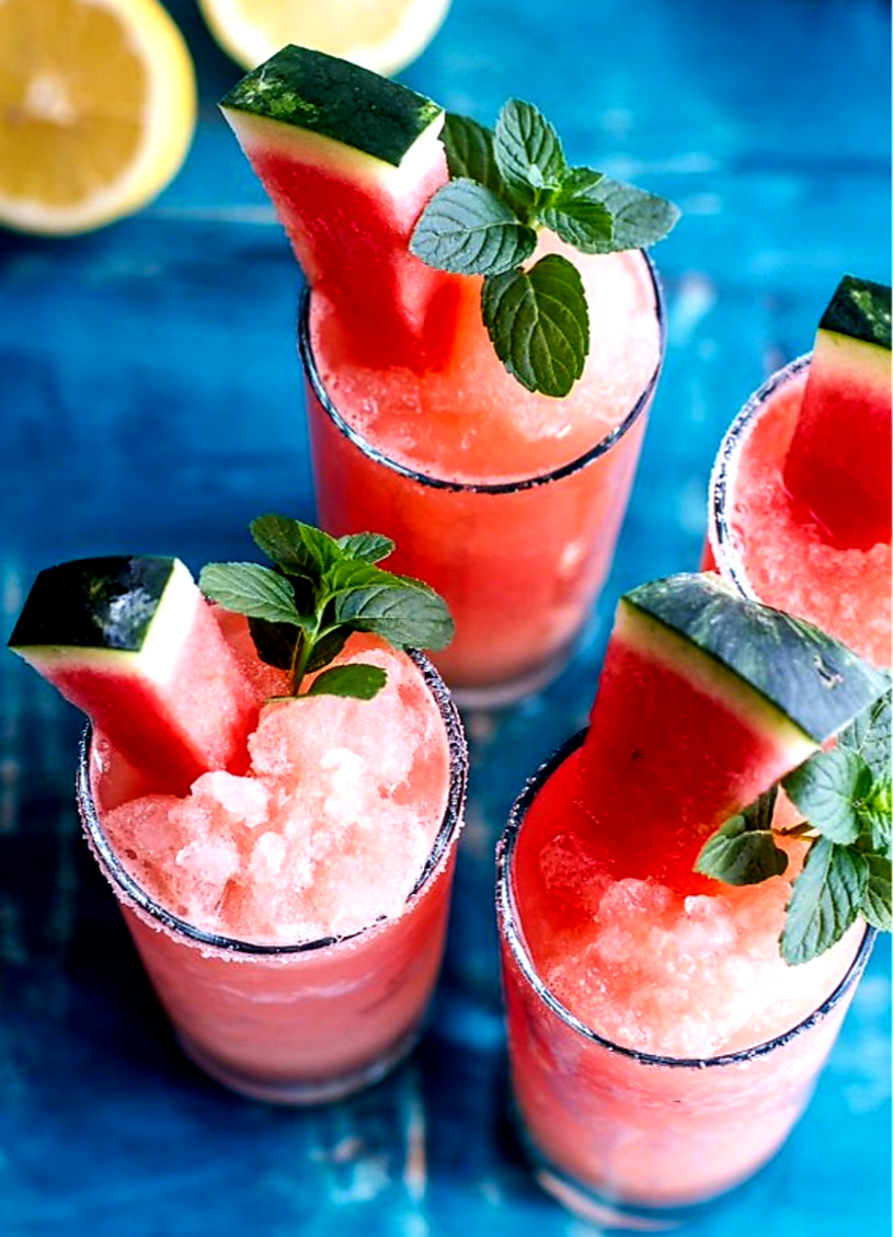 healthy, fruit and watermelon