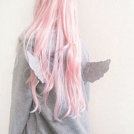 pastel, wings and angel