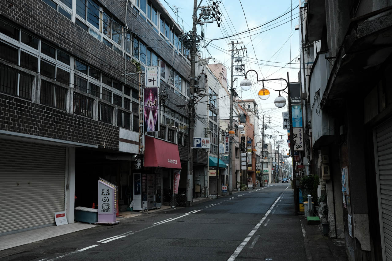 street, japan and aesthetic