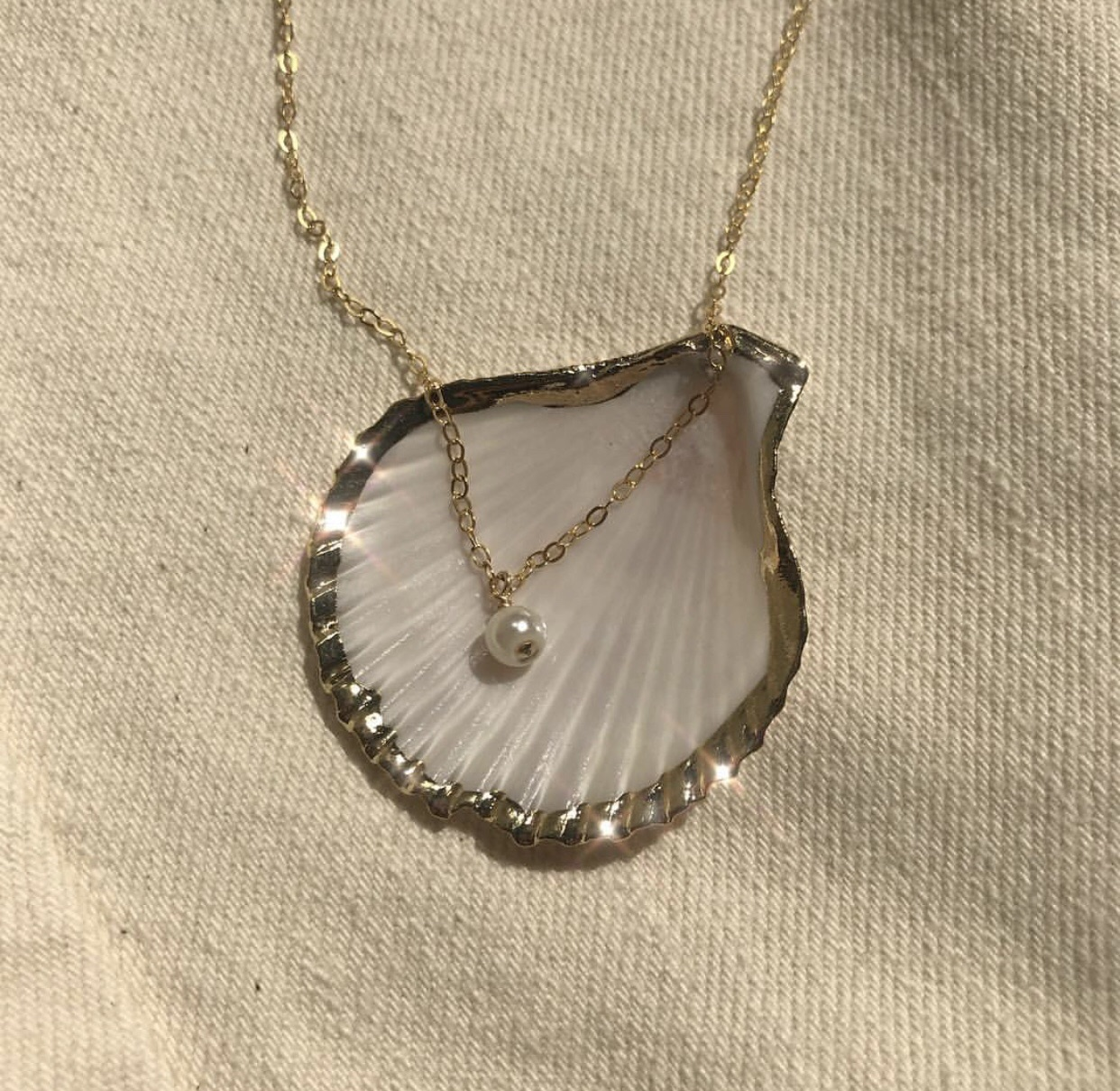 Tumblr Seashell Necklace And Accessory Image 6334757 On Favim Com