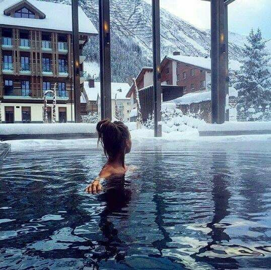 alps, traveling and swimming