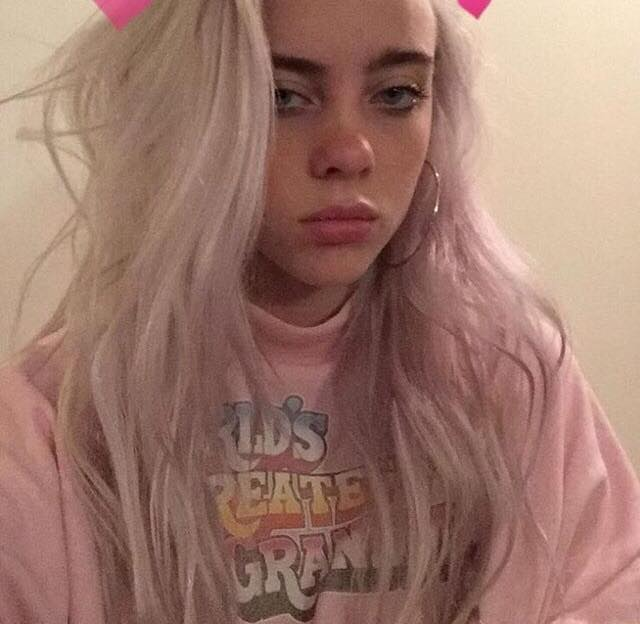billie, sad and aesthetic