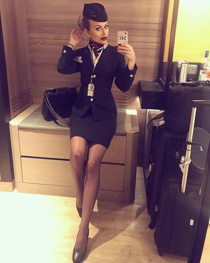 cabin crew, london and girls