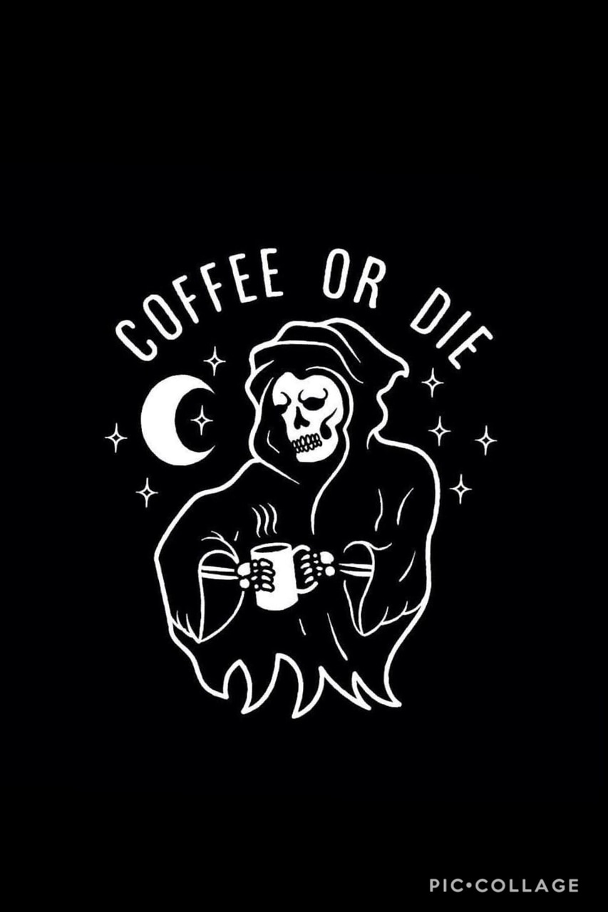 coffee, october and halloween
