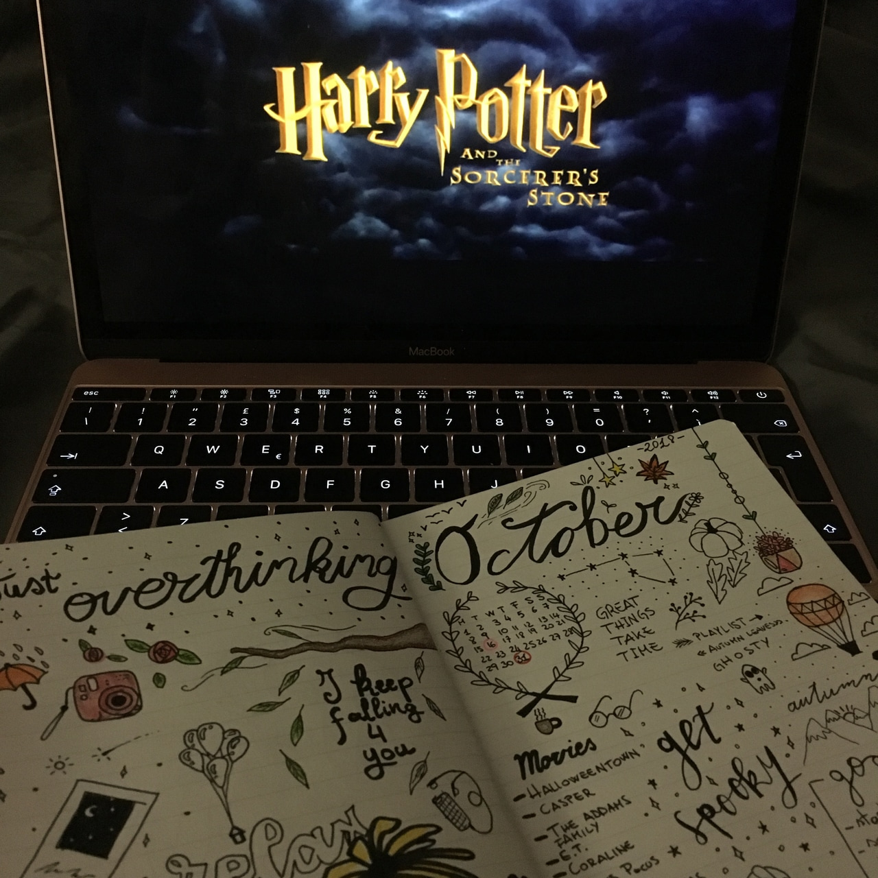 halloween, autum and rowling