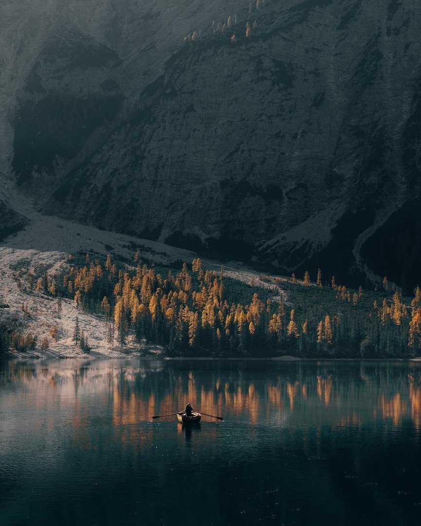 lake, autumn and water