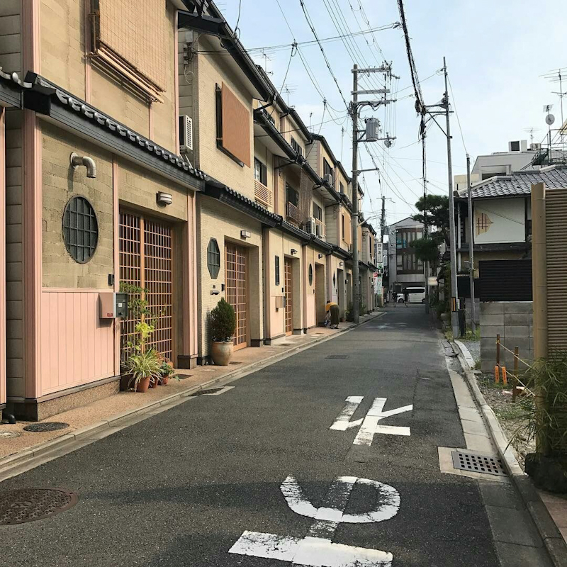 travel, street and japan