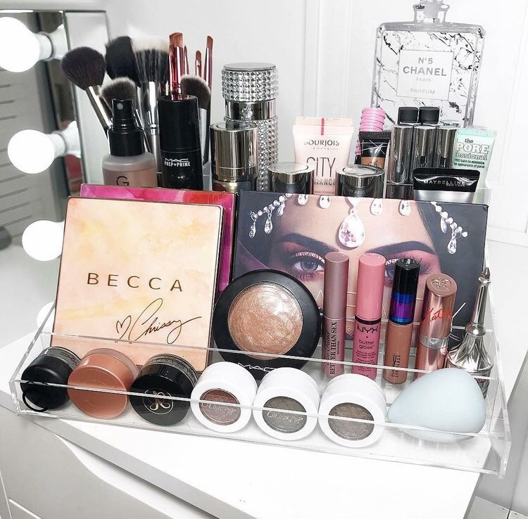 makeup, organiztion, beauty and vanity