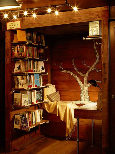 decor, reading nook, home decor and house