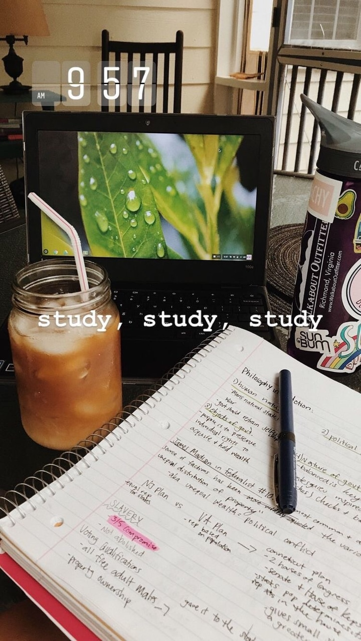 inspo, iphone, aesthetic and study