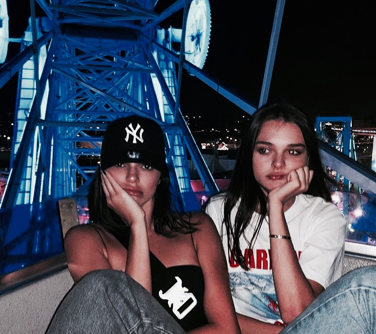 filtered, charlotte lawrence, girls and kendall jenner