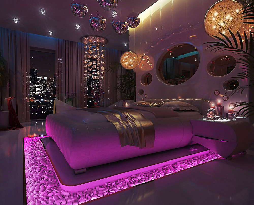 Pink bedroom images on Favim.com