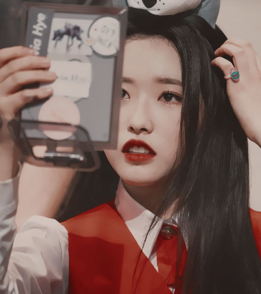 fake icons, korean girl, loona icon and edit loona