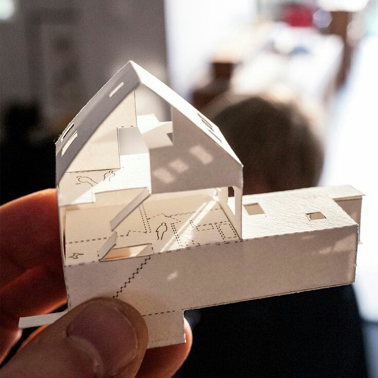 architectural model, college, maquette and mb19
