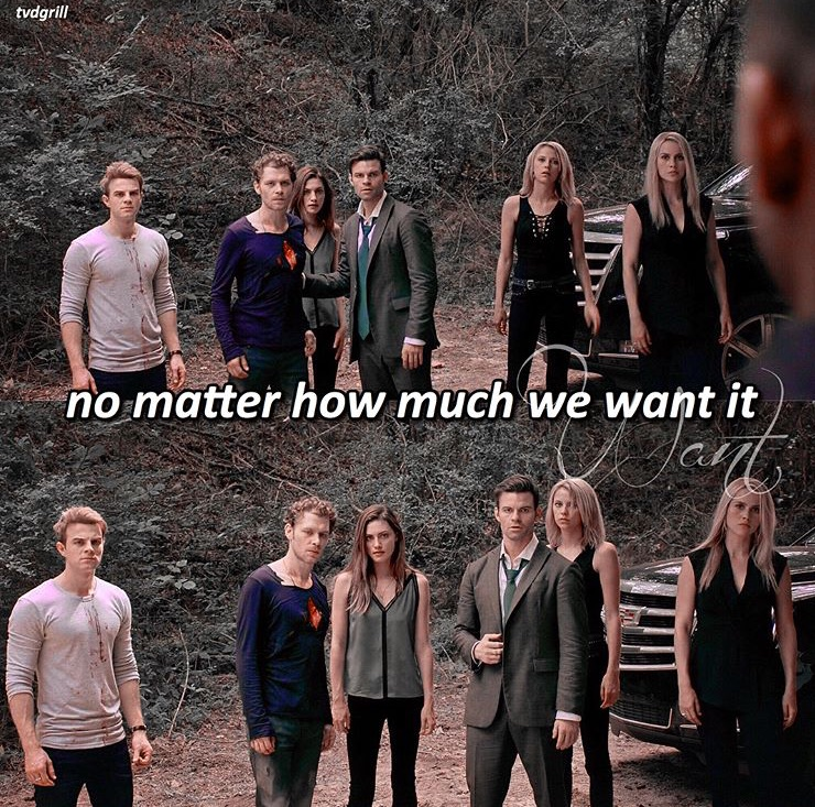 caroline forbes, mikaelson, the originals and stefan salvatore