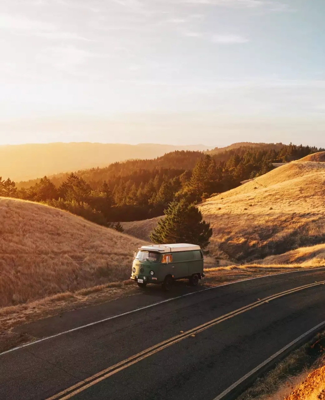 fall, trip, road trip and 500px
