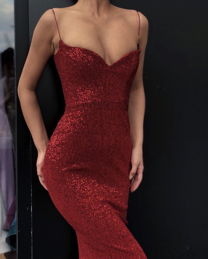 red sexy dress, fashion goals, style and red prom dress