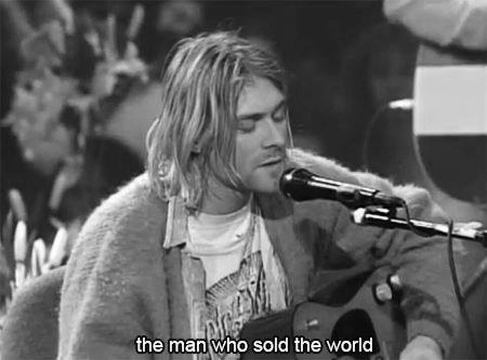 black, nirvana, black and white and lyrics