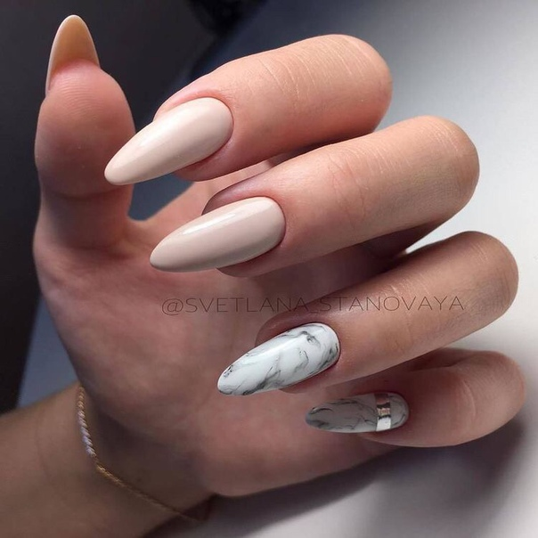 manicure, trendy, beautiful and nails