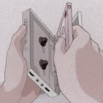 soft, pink, photoshop and cassette