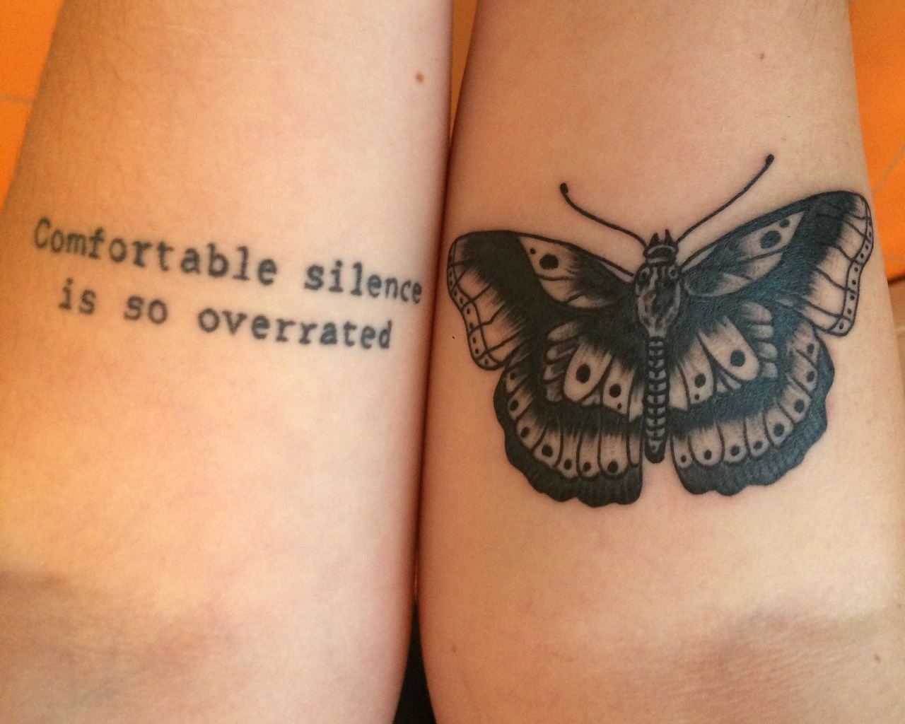 harry styles, butterfly and tattoos