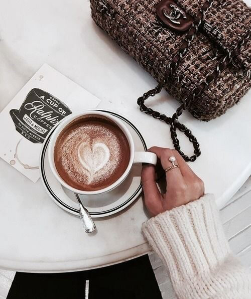 coffee, girly and accessories